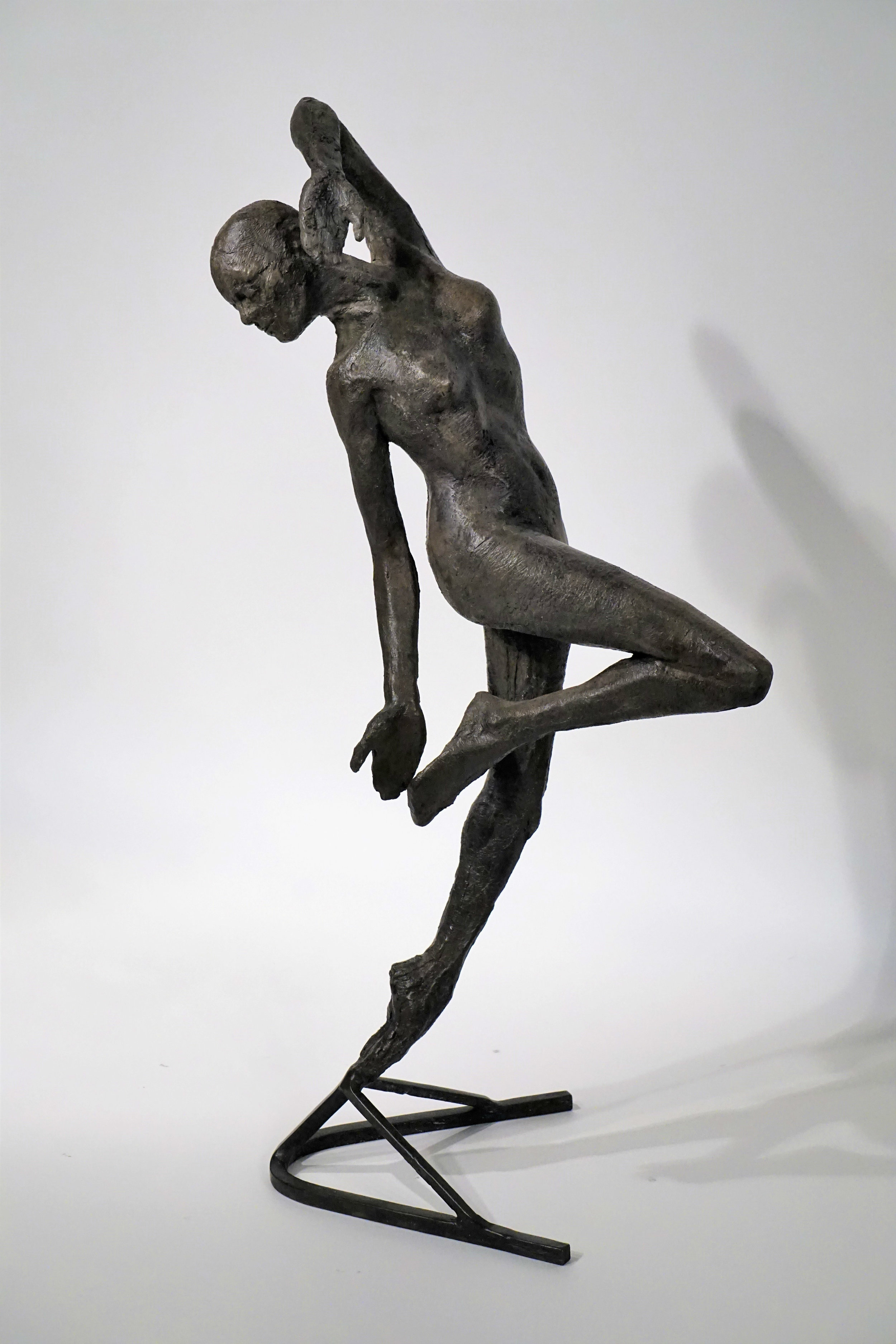 "Joy  (22"" x 5"" x 7"", Bronze)"