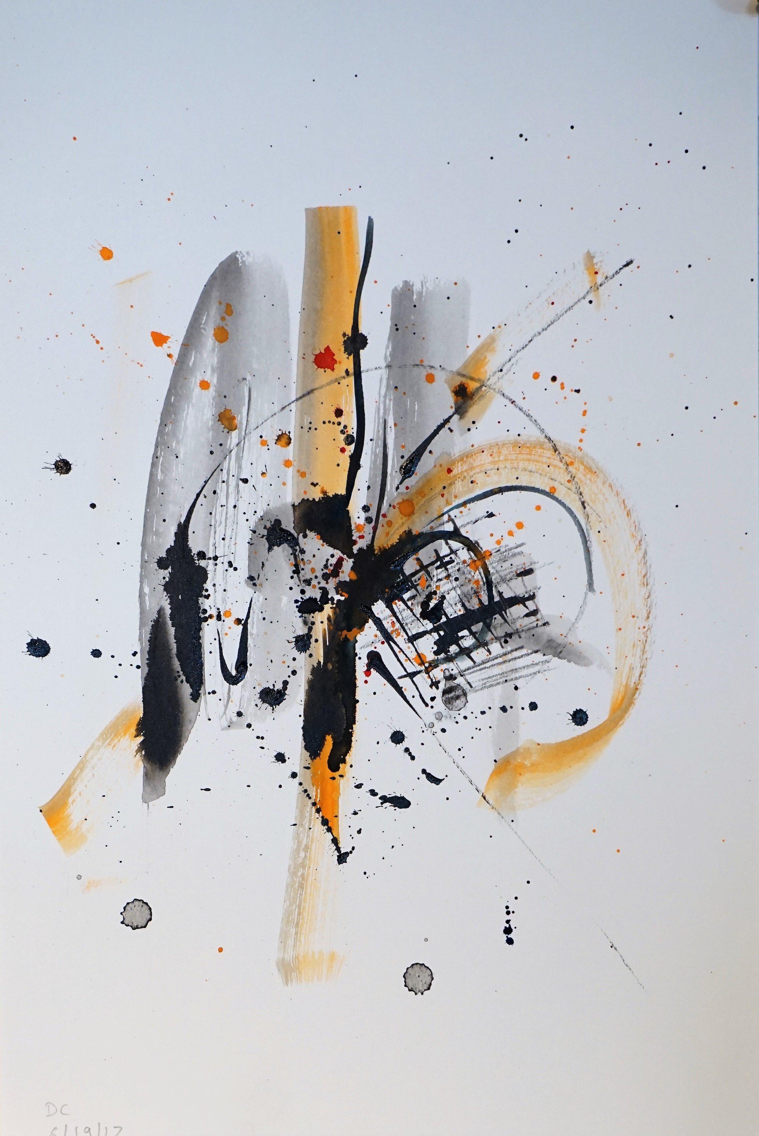 Frustration in Orange and Black #1