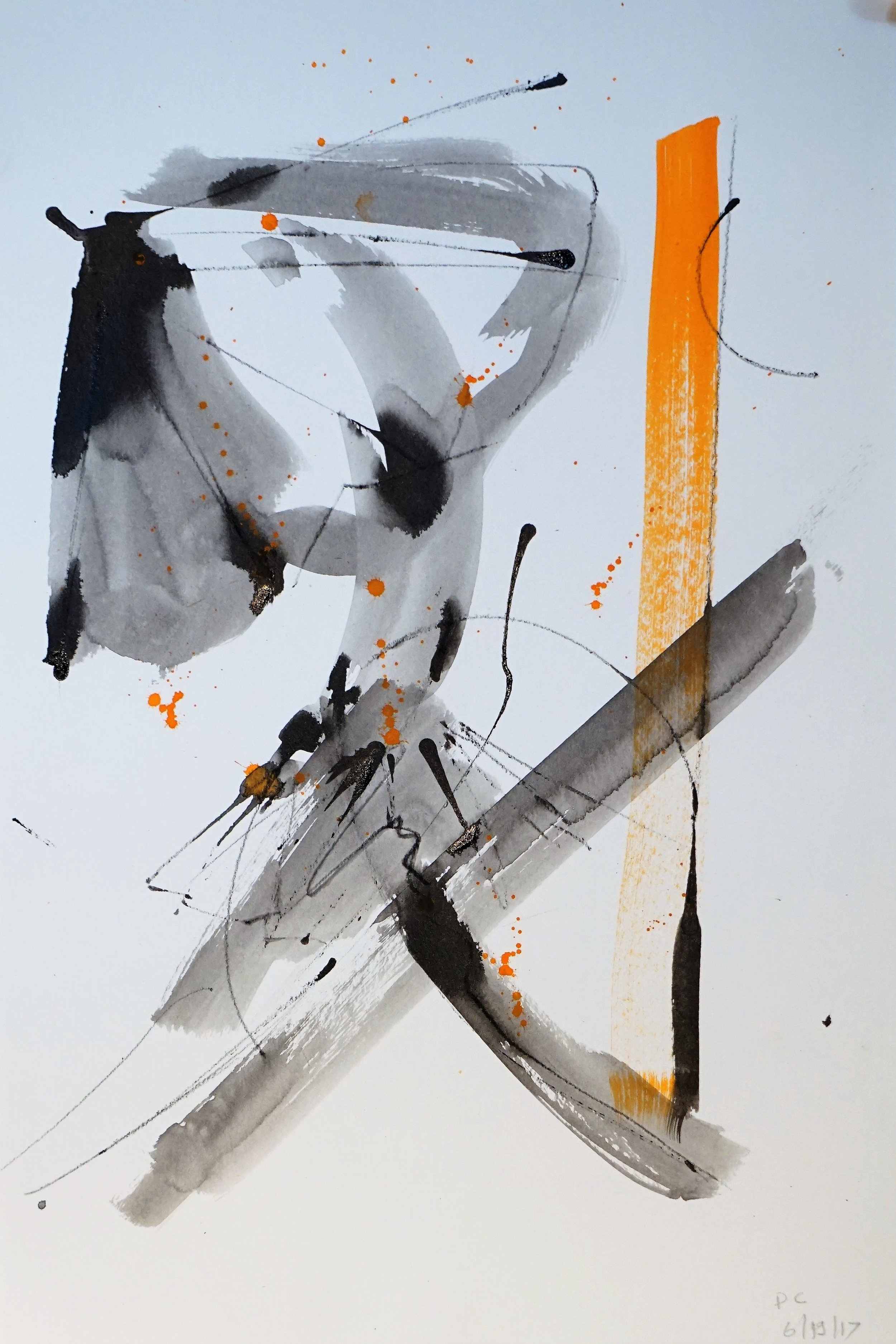 Frustration in Orange and Black #4