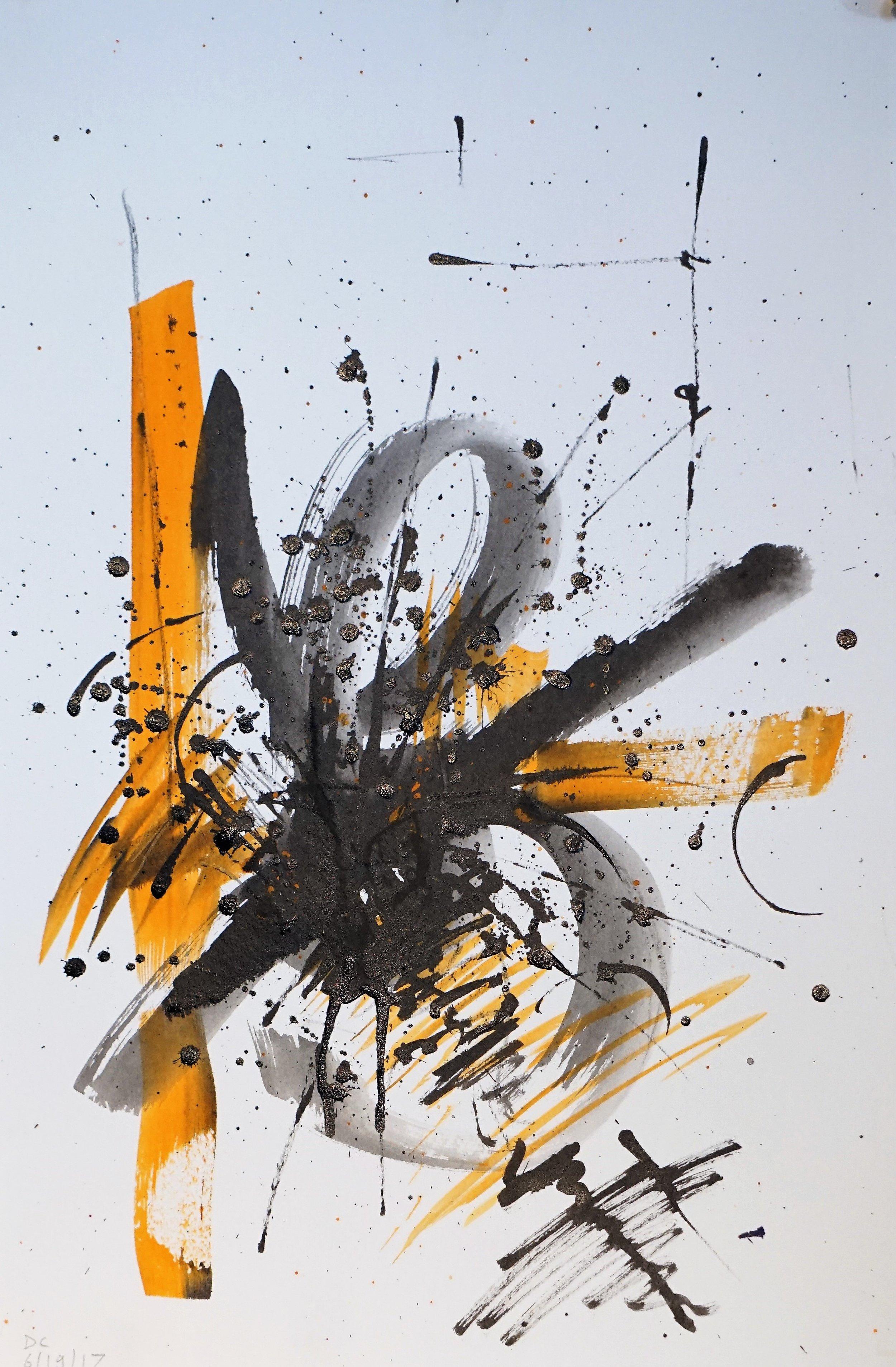Frustration in Orange and Black #3
