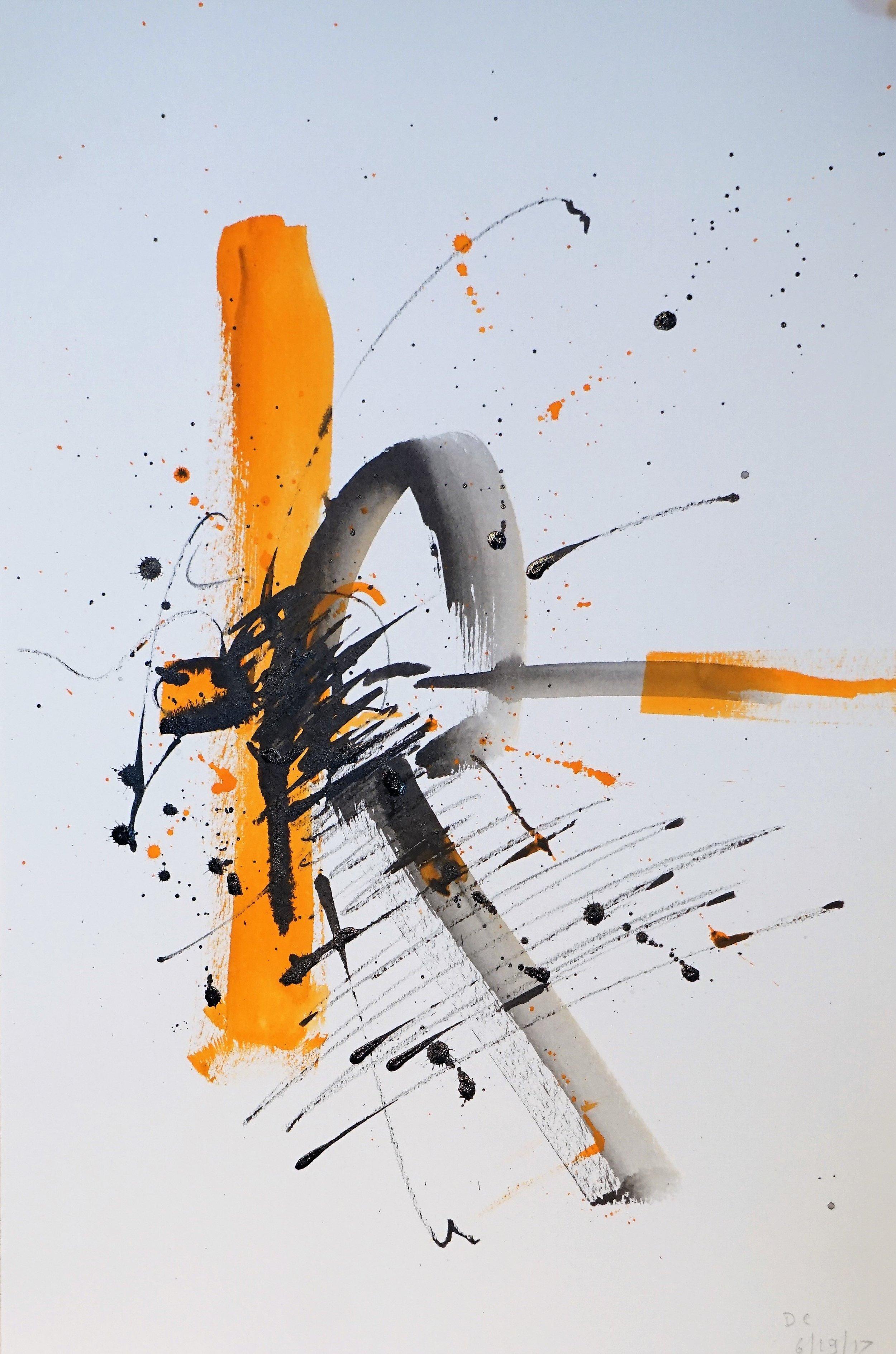 Frustration in Orange and Black #5