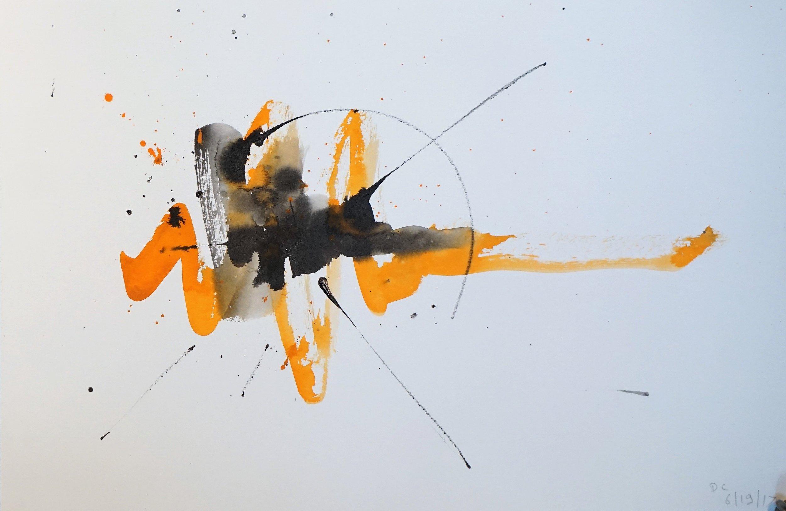 Frustration in Orange and Black #7