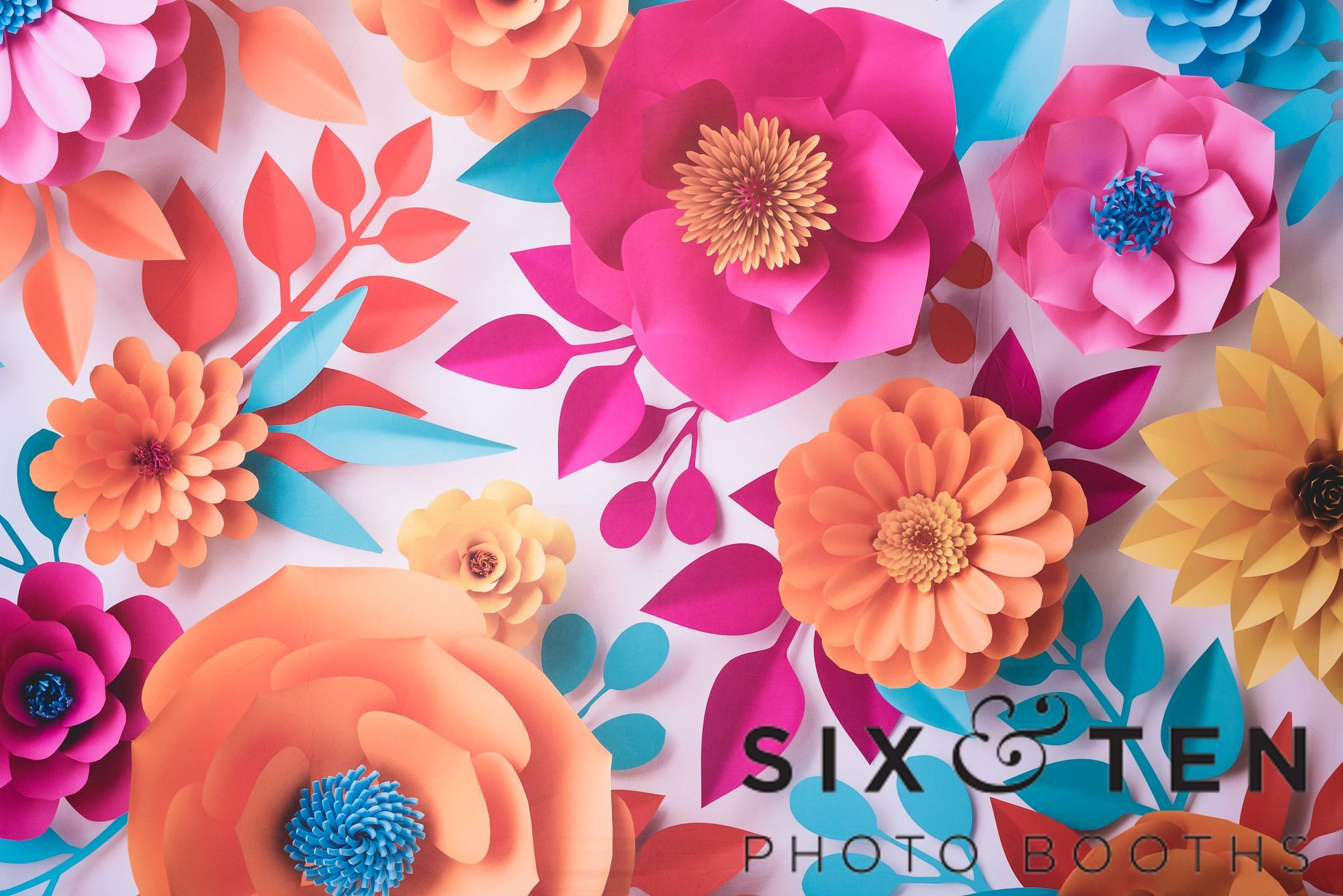 Colorful Paper Floral