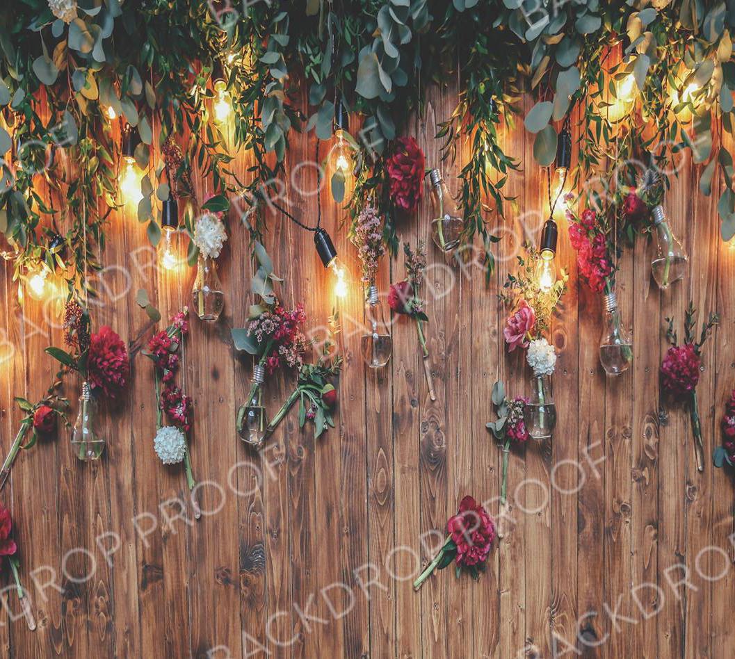 Floral Barn door