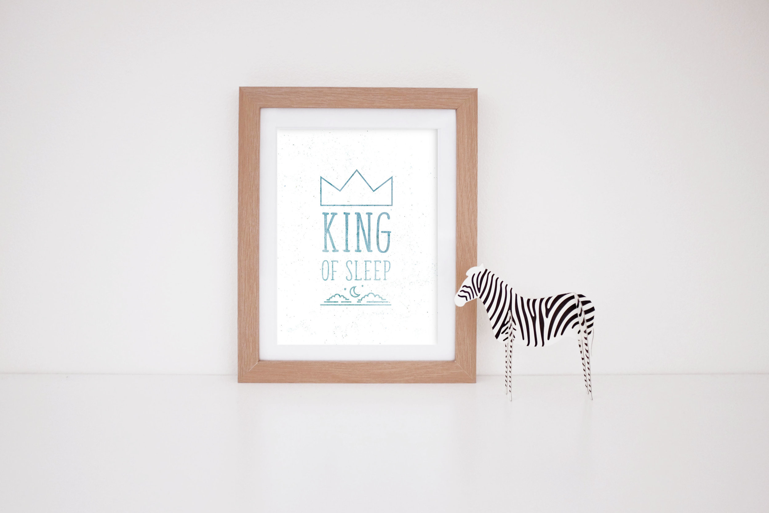 MaryRizzaCruzCreative_ArtInFrame_Zebra_Nursery_Typo_KingOfSleep_2016.jpg