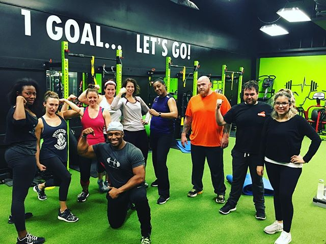 And another One!  Fit Conditioning45 with @provokdbyjudah if u missed tonight's class don't worry u can catch it again on Thursday @ 6:45pm! 1 Gym.. 1 Goal.. Let's Go! #getfitonthego #1gym1goalletsgo #fitness #brentwood #nolensville #nolensvilletn #nolensville411 #antioch #nashville #lennoxvillage #musiccityfit #fitspo #instafit #instafitness #bootcamps #workout #gym #fitfam #fitness