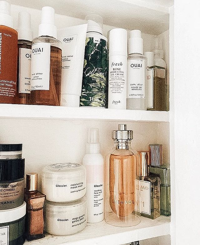 But first, let me take a shelfie. What's your favorite product on your shelf right now!? #getprete #pretebeauty