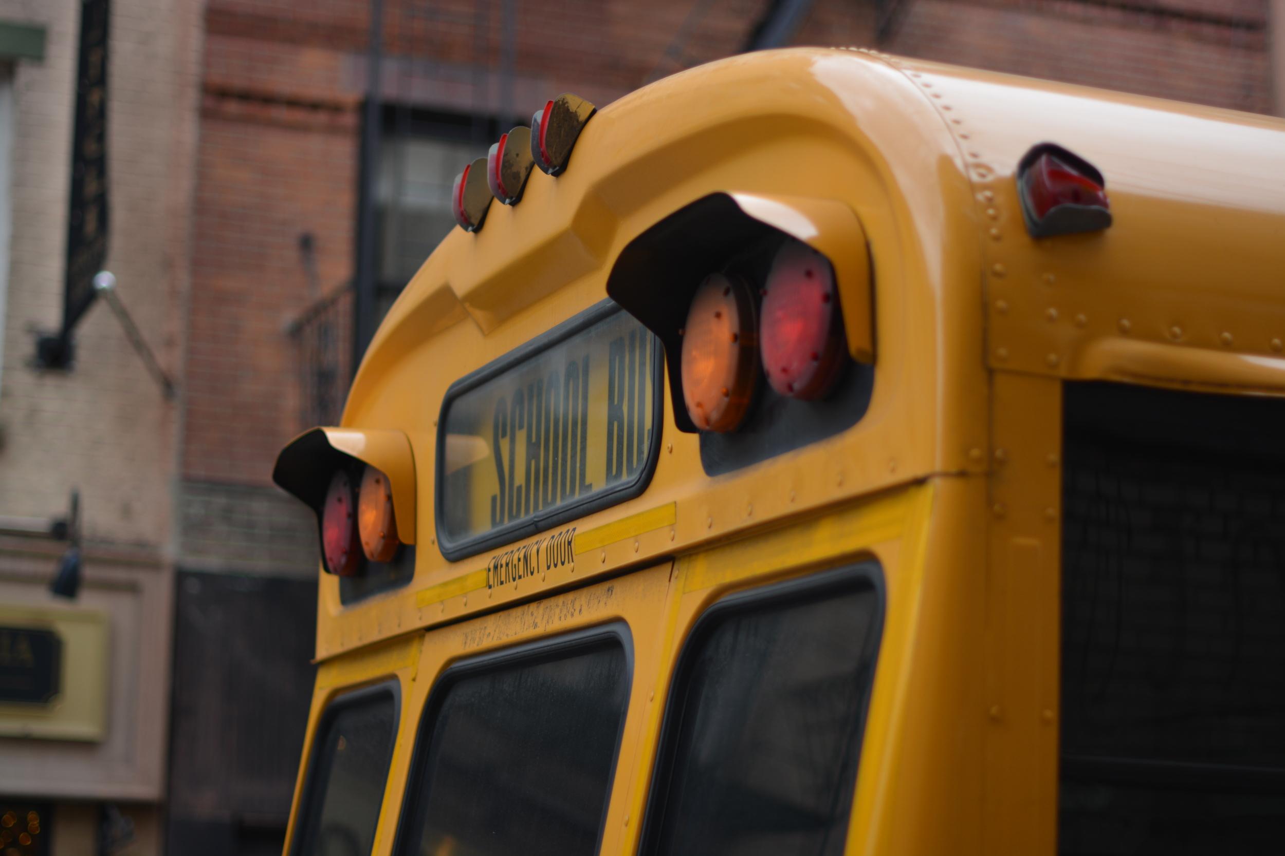 School Bus, NYC 2015