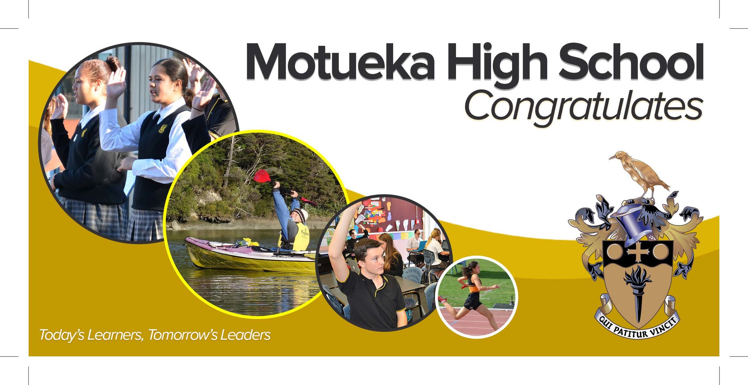 Redevelopment of Motueka High School identity design