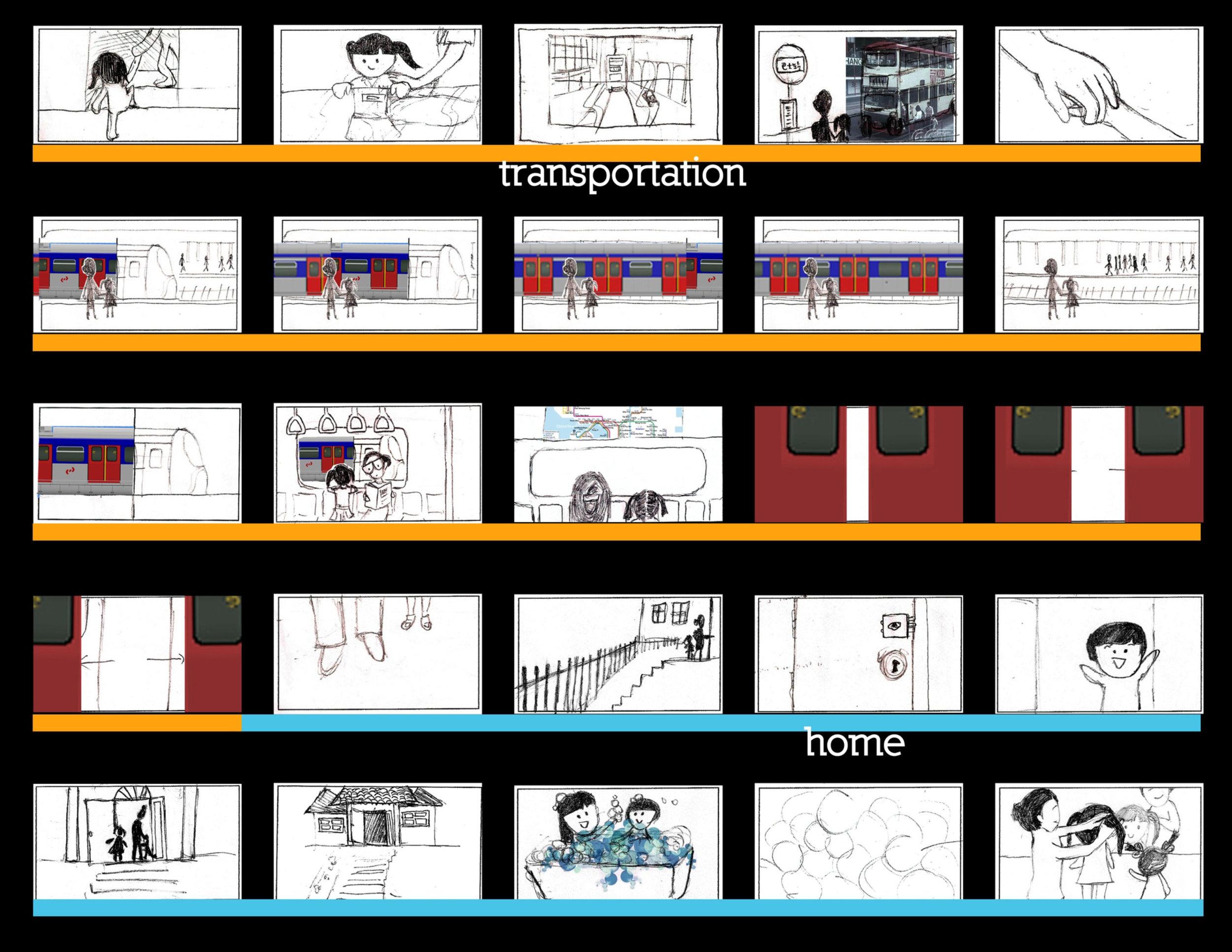 Initial Storyboard 2.