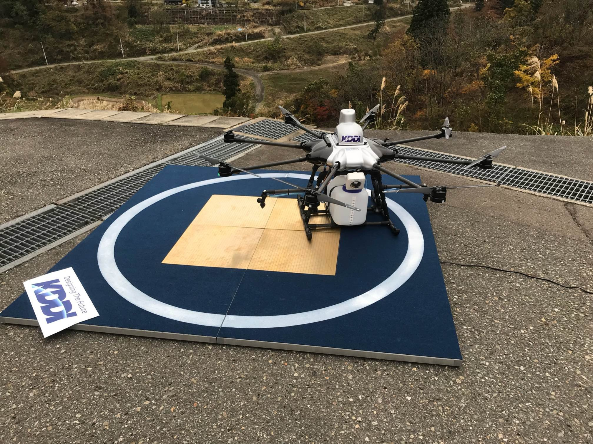 KDDI  successfully implemented SKysense Indoor Charging Pad as part of the SmartDrone project