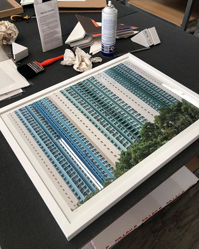 Getting some prints framed for someone very special. I like how the prints and frames turned out. Limited prints available in 762 x 559 mm and also in 609 x 447 mm.  Link in Bio ... Currently doing some test prints for larger sizes as well. #artphoto #hongkongarchitecture #framedart #urbanphotography
