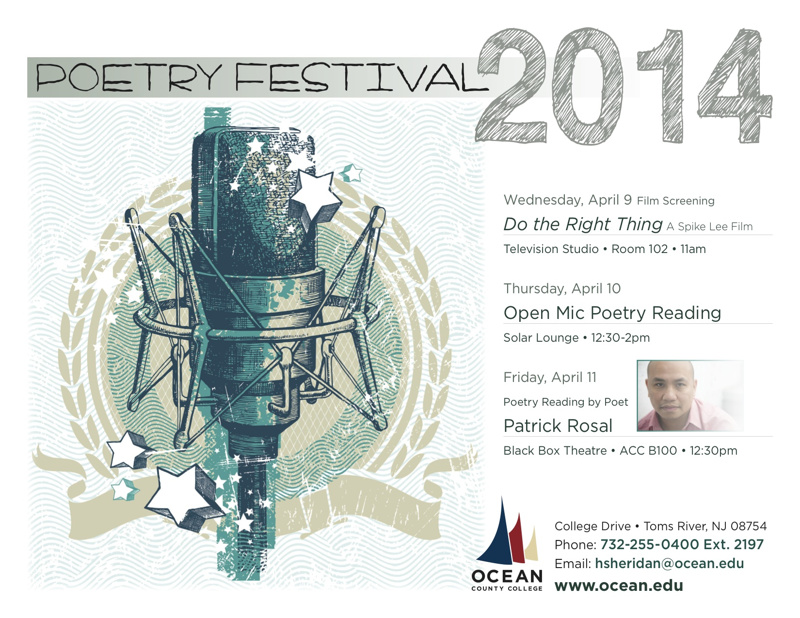 Ocean County College Nat'l Poetry Month