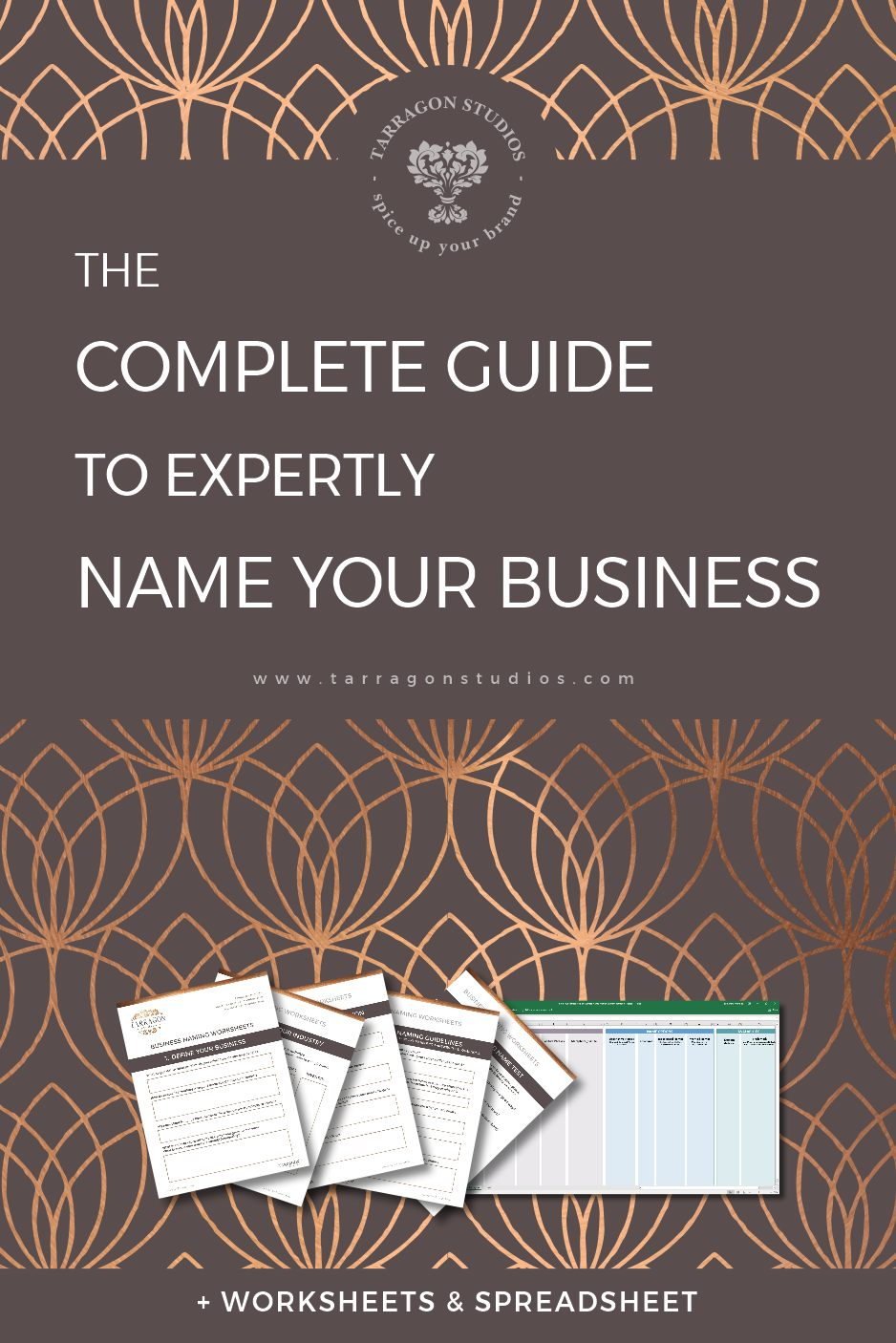 "Are you frustrated that something as ""simple"" as a name is holding up your business launch? Follow this guide to name your business like an expert! (You'll be done in no time!) #business #branding #businessguide #smallbusiness"
