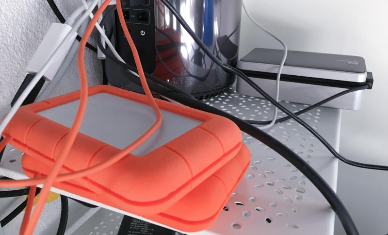 My 3(!) external hard drives