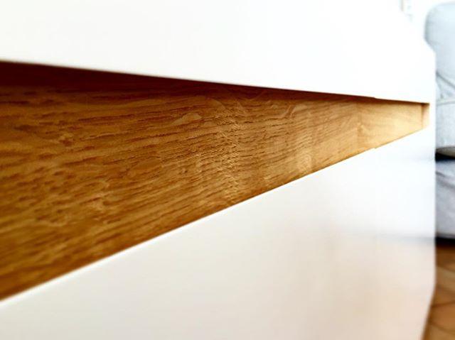 Detail #oakinlay #lackeredmdf #n14creativeengineering designed by @isalinedb