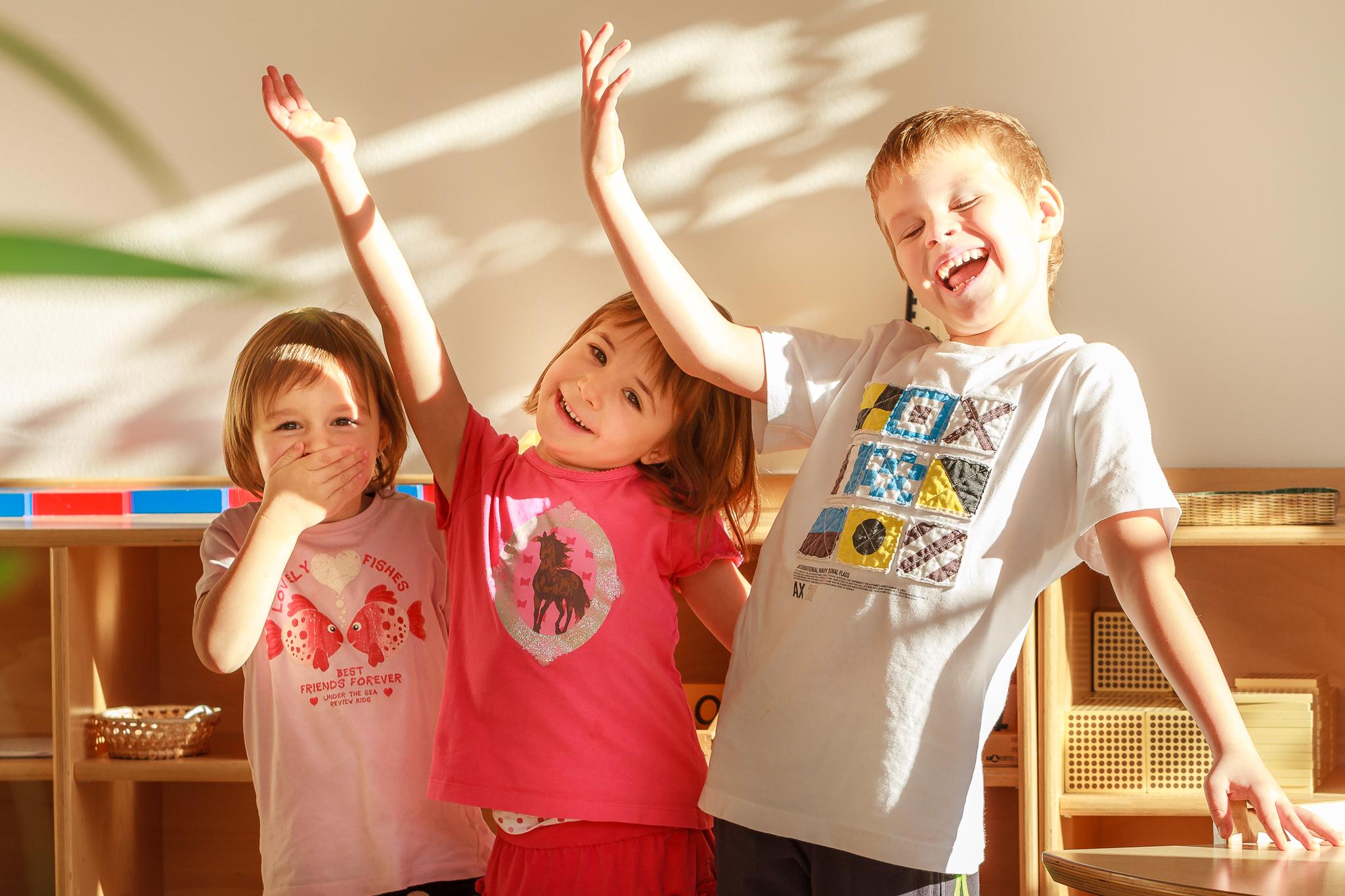 The children of NestLingue preschool