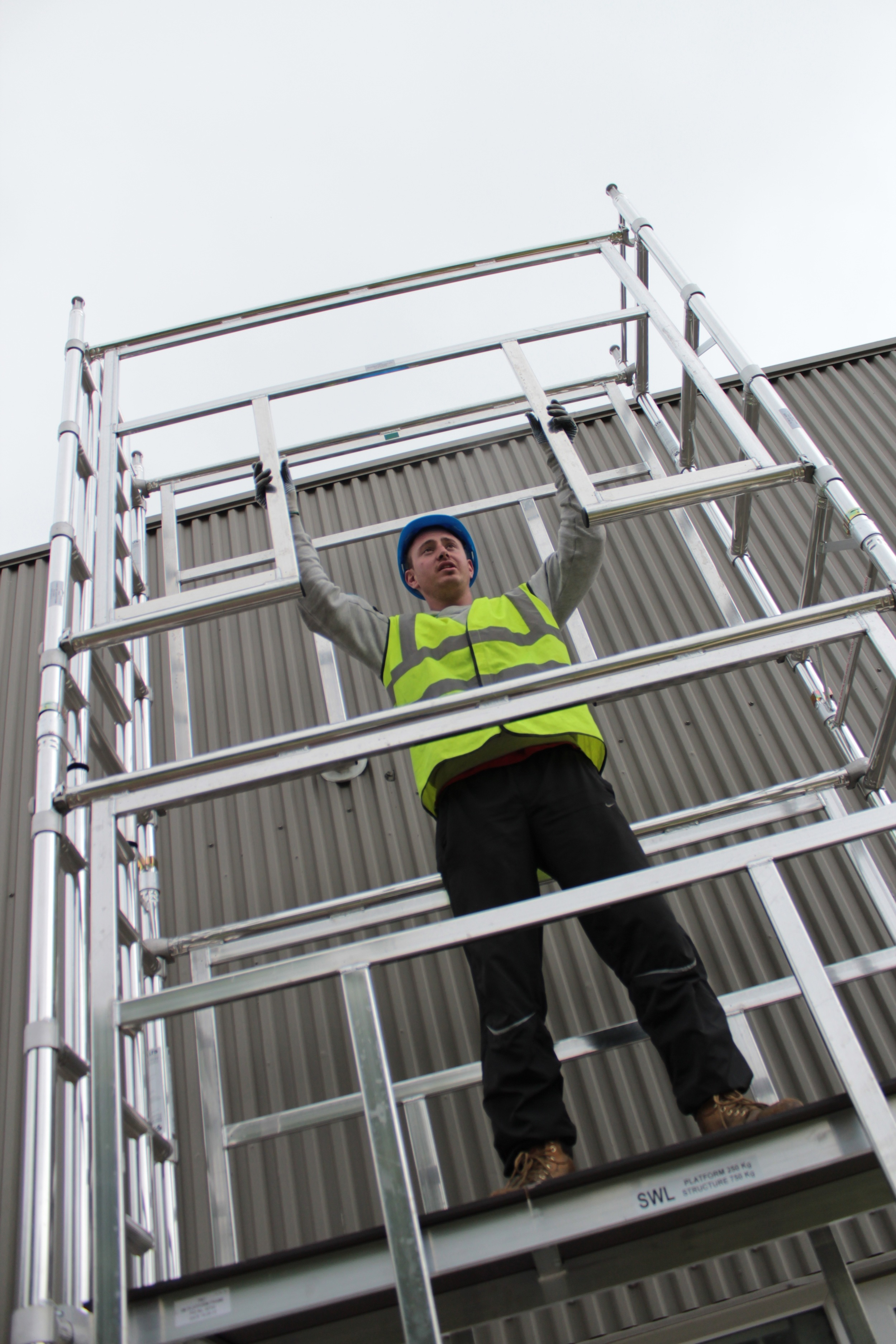 Aluminium Scaffold Tower, Euro Towers, 3T tower, Working at heights, euro 500, agr tower