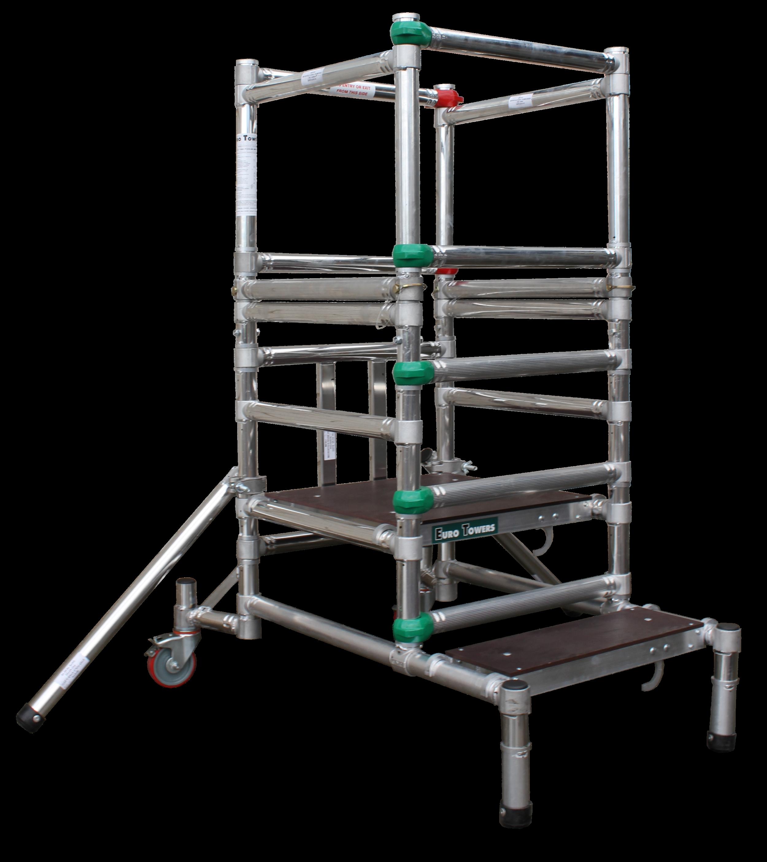 Aluminium Podium   Aluminium access tower system   Euro Towers   Microfold 1000 mk1