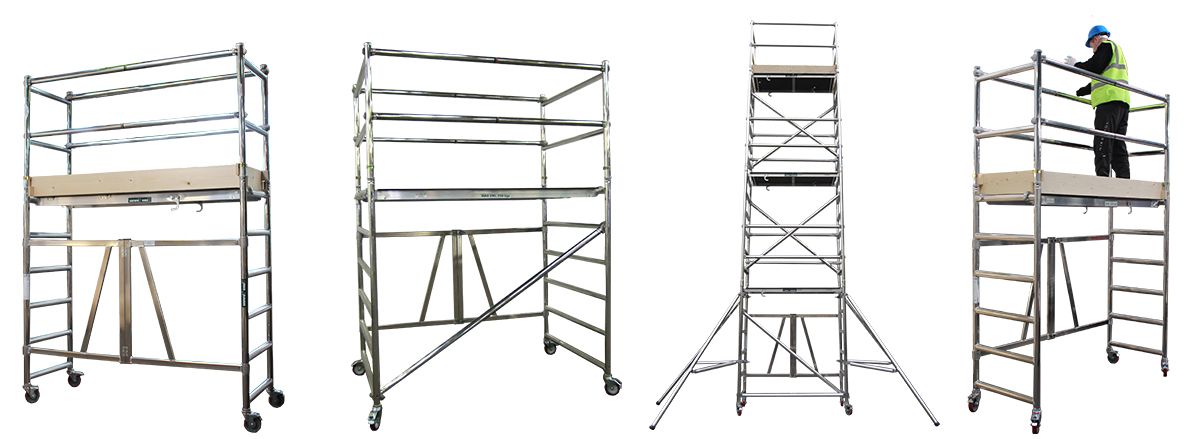 Low level Units | Aluminium Podiums | Working at height | Euro Towers Podium | Aluminium Access