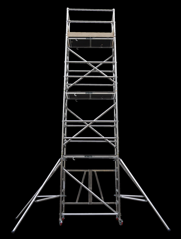Aluminium podium | stepfold podium 1 & 2 | euro towers | aluminium tower