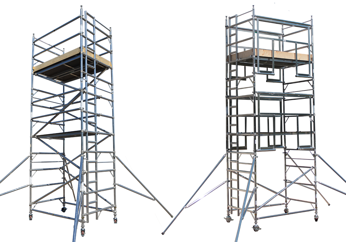 Aluminium scaffolding tower | mobile tower system | PASMA | 3T AGR Towers |