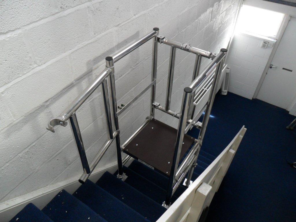 Stairpod 500, stair access, Aluminium podium, aluminium scaffolding, euro towers