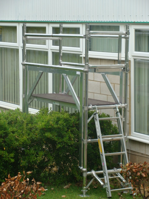 High clearnace unit, Aluminium access tower system, Euro Towers