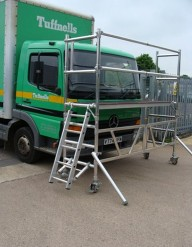 windscreen fitters unit, Aluminium access tower system, Euro Towers