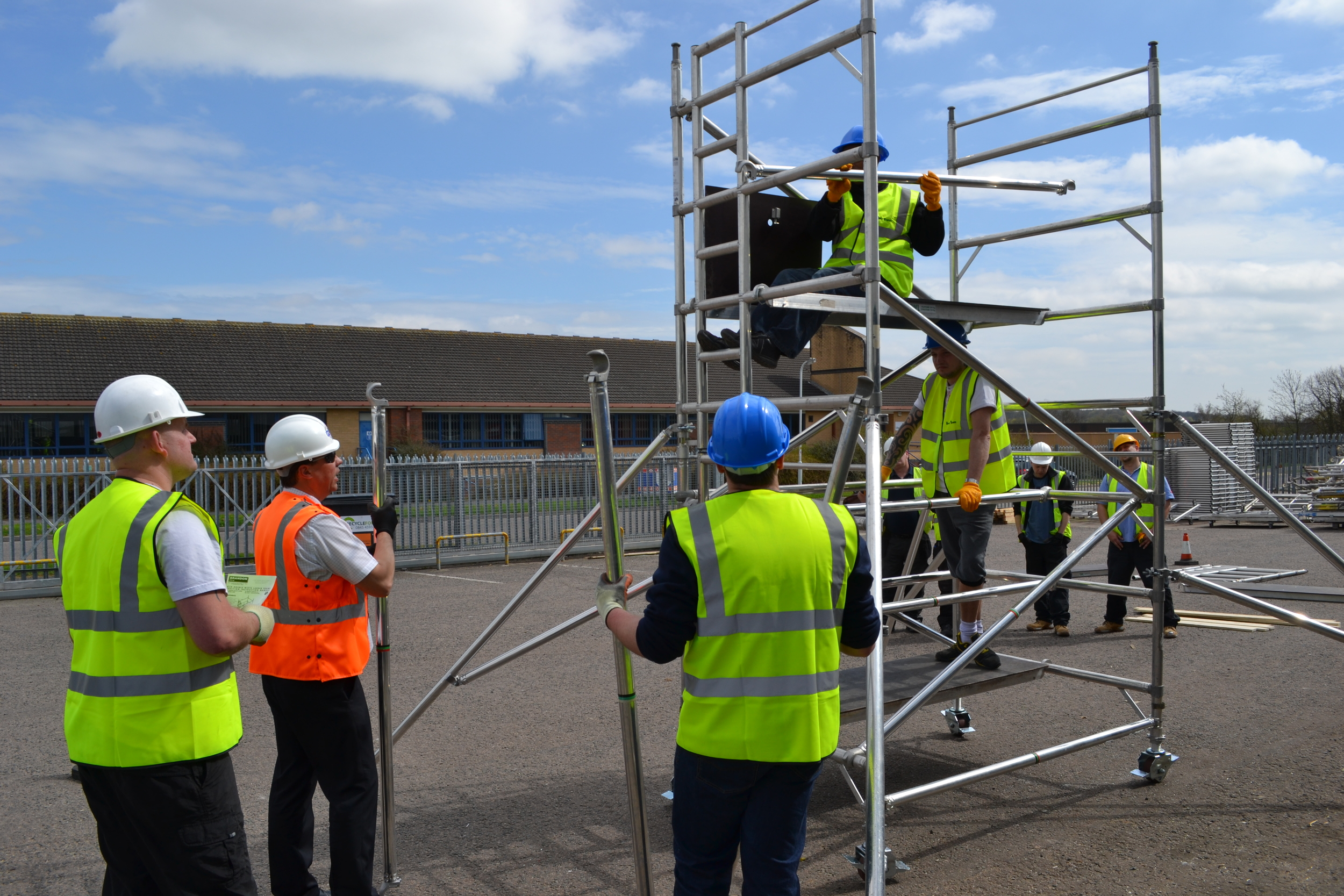 Euro Towers Ltd, Tower training, PASMA Training, Towers for Users, working at height, safe access, training. Northamptonshire