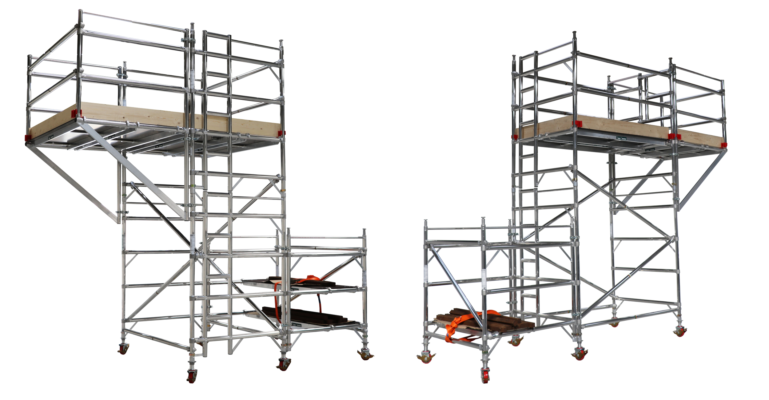 Cantilever, euro towers, working at height, aluminium access, confined space