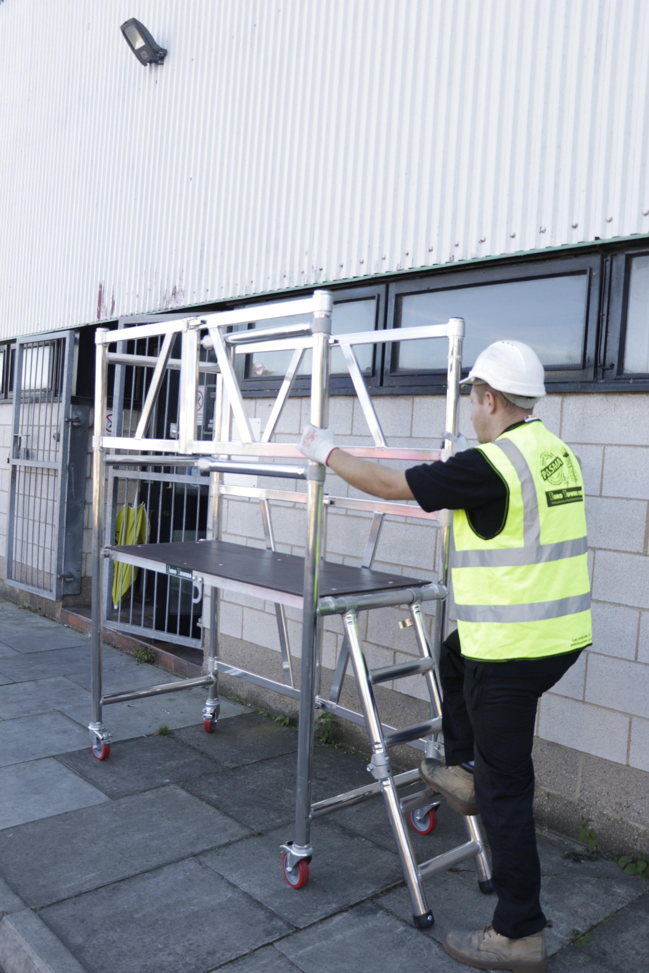 Aluminium podium   aluminium scaffolding   euro towers   AGR Podium
