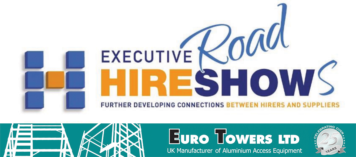 euro towers, executive hire show, aluminium access, hire, mobile towers