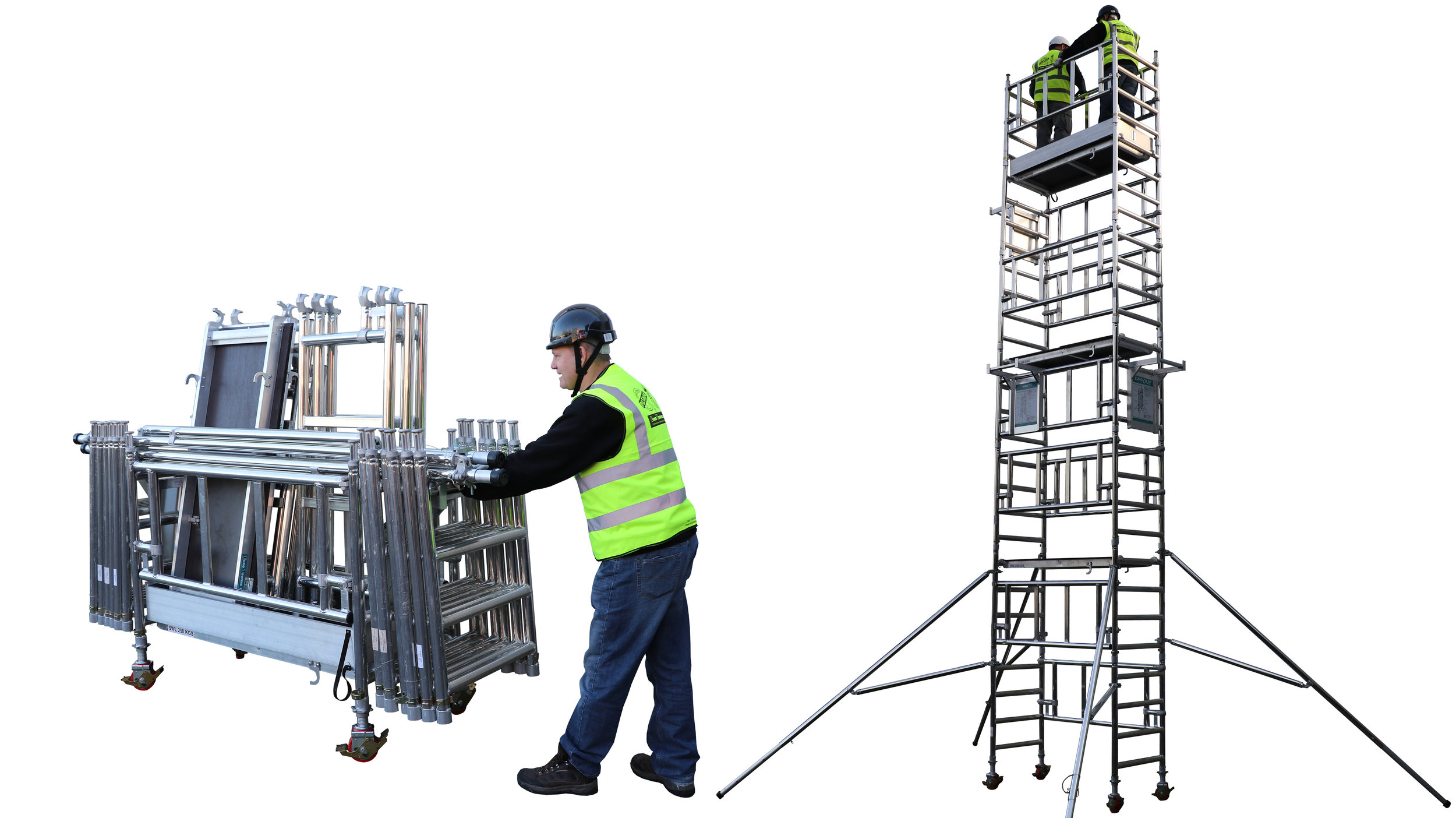 3T lADDER fRAME tOWER