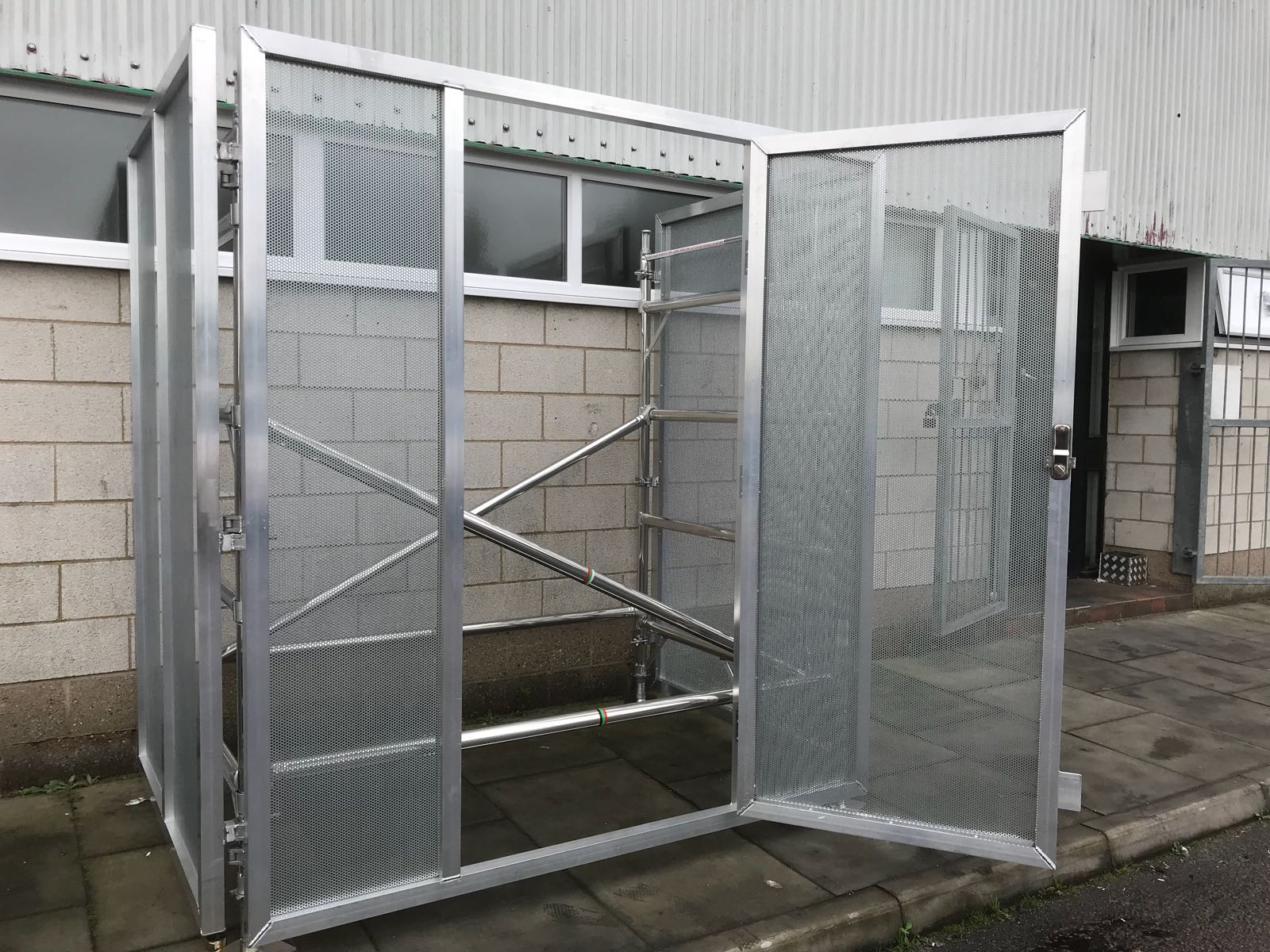 Securi-panel, Aluminium Scaffold Tower, Euro Towers, 3T tower, Working at heights, euro 500, agr tower