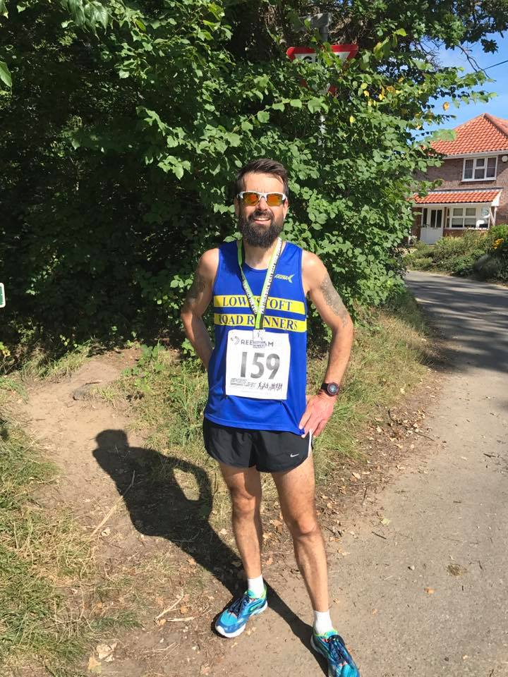 Chris Haylock at Reepham 10k