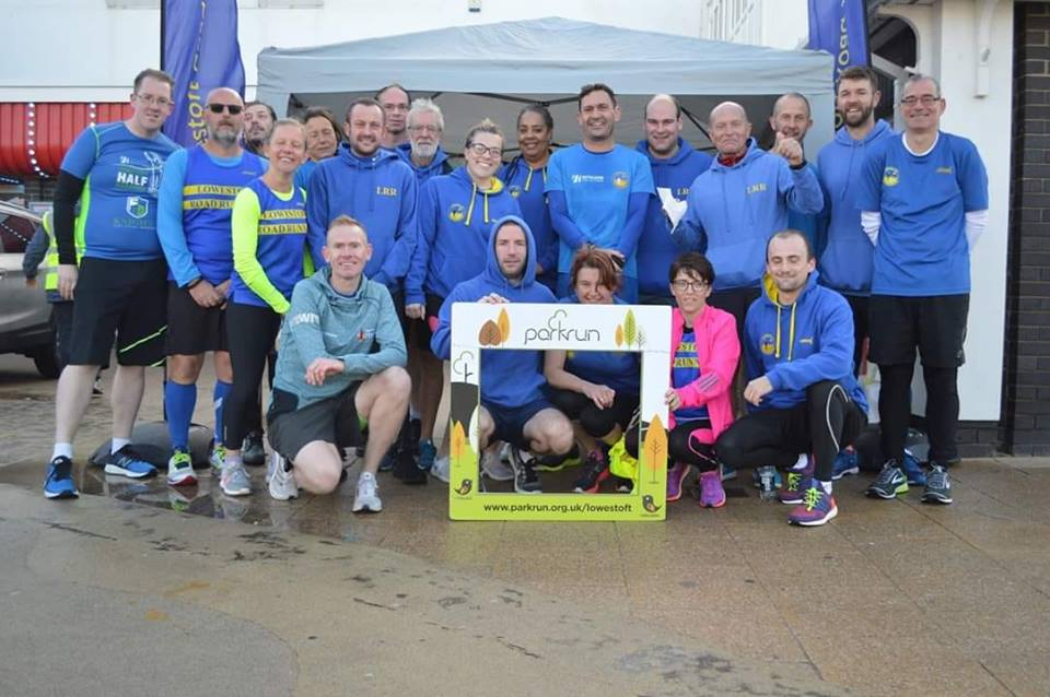 Lowestoft Road Runners Celebrate Parkrun's 3rd Birthday