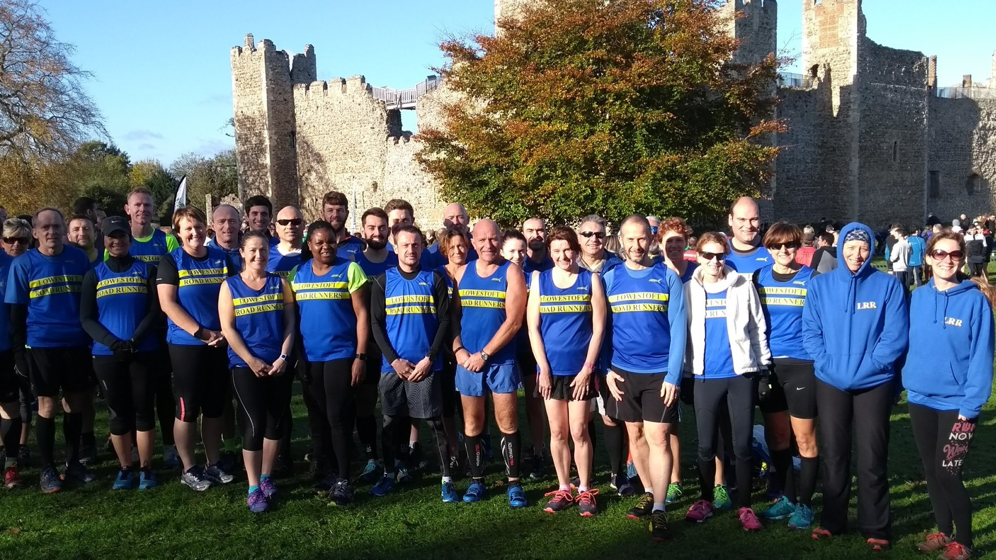 Lowestoft Road Runners at Framlingham Cross country