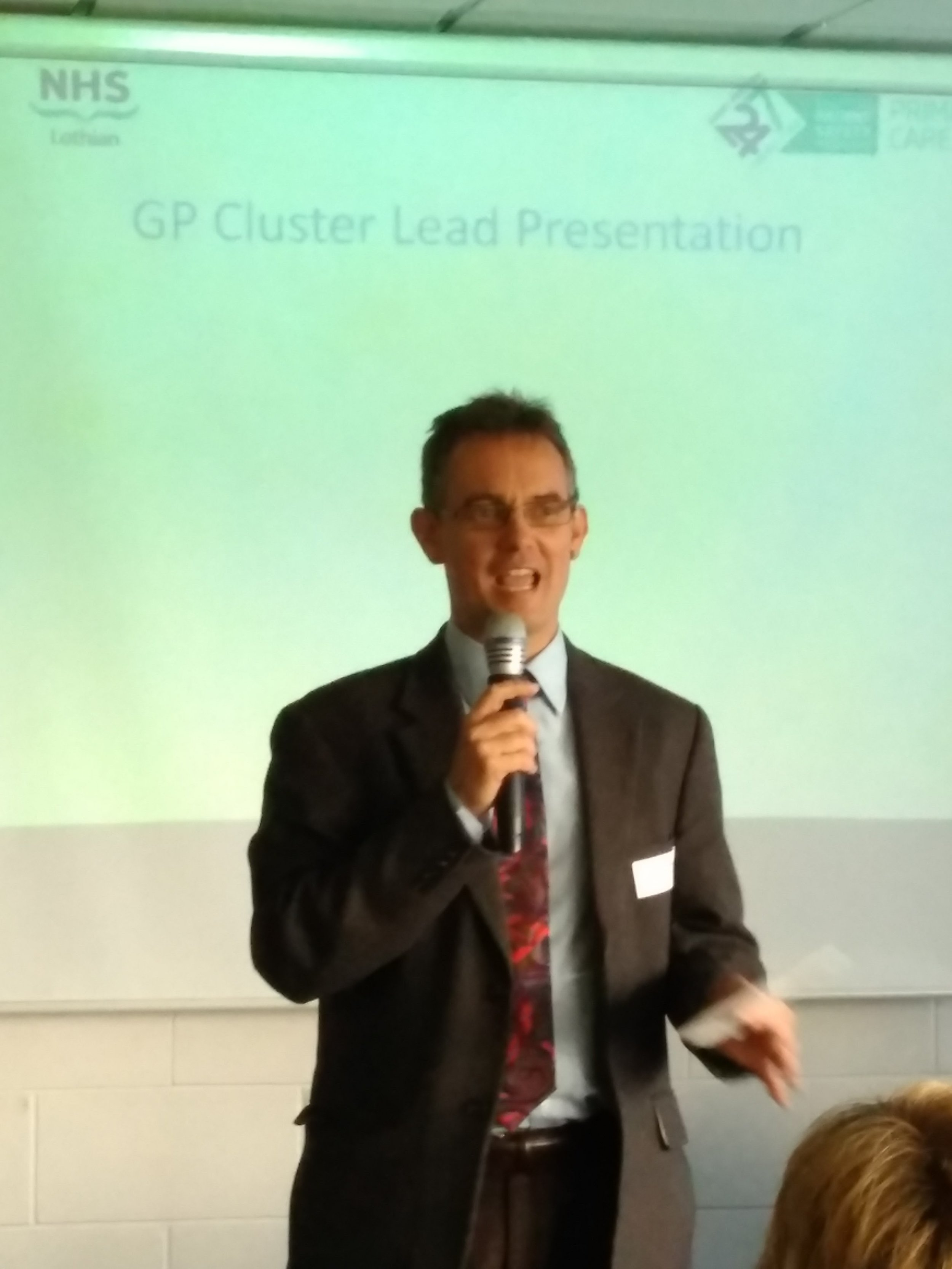 DR ANDREW MACKAY - eDINBURGH CLUSTER QUALITY LEAD