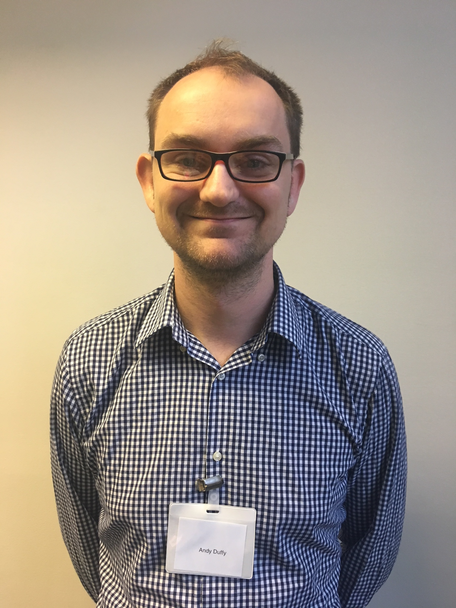 Andy Duffy - Senior Analyst