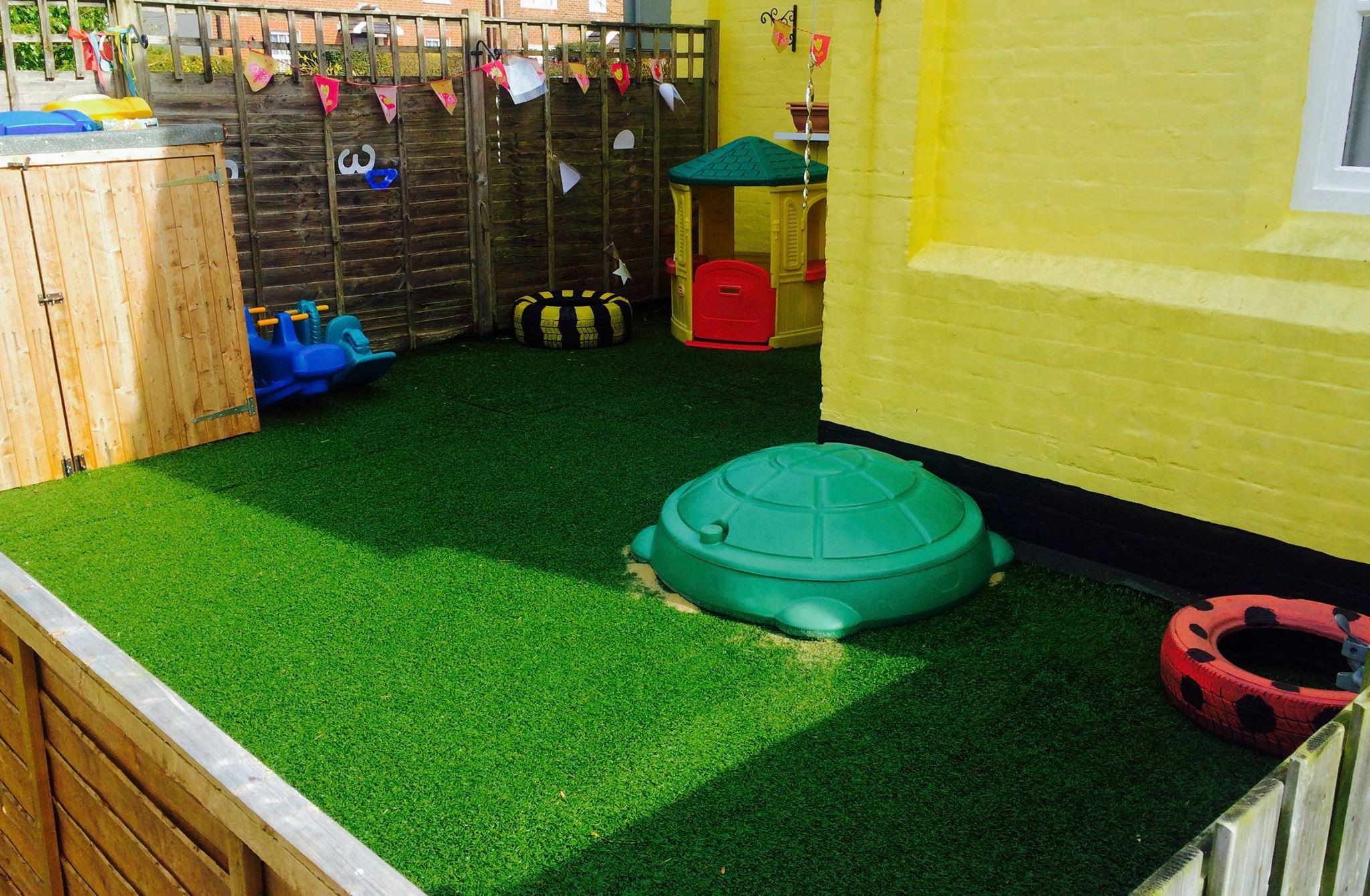 Baby Garden Area
