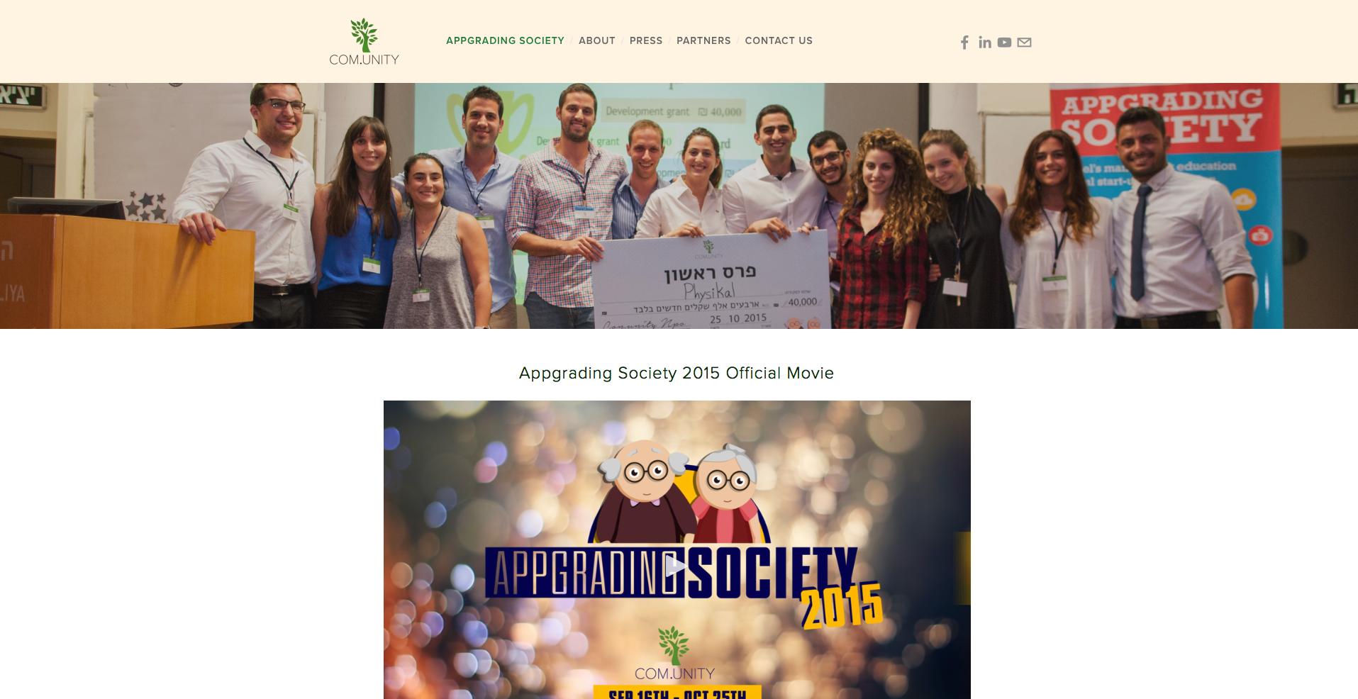 COM.UNITY Official website