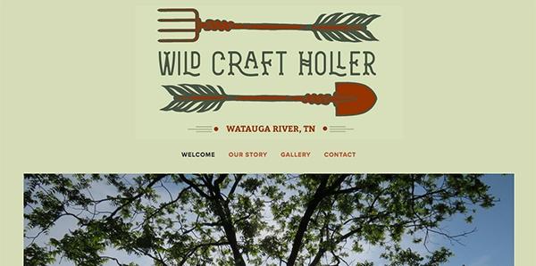 Wild Craft Holler Website