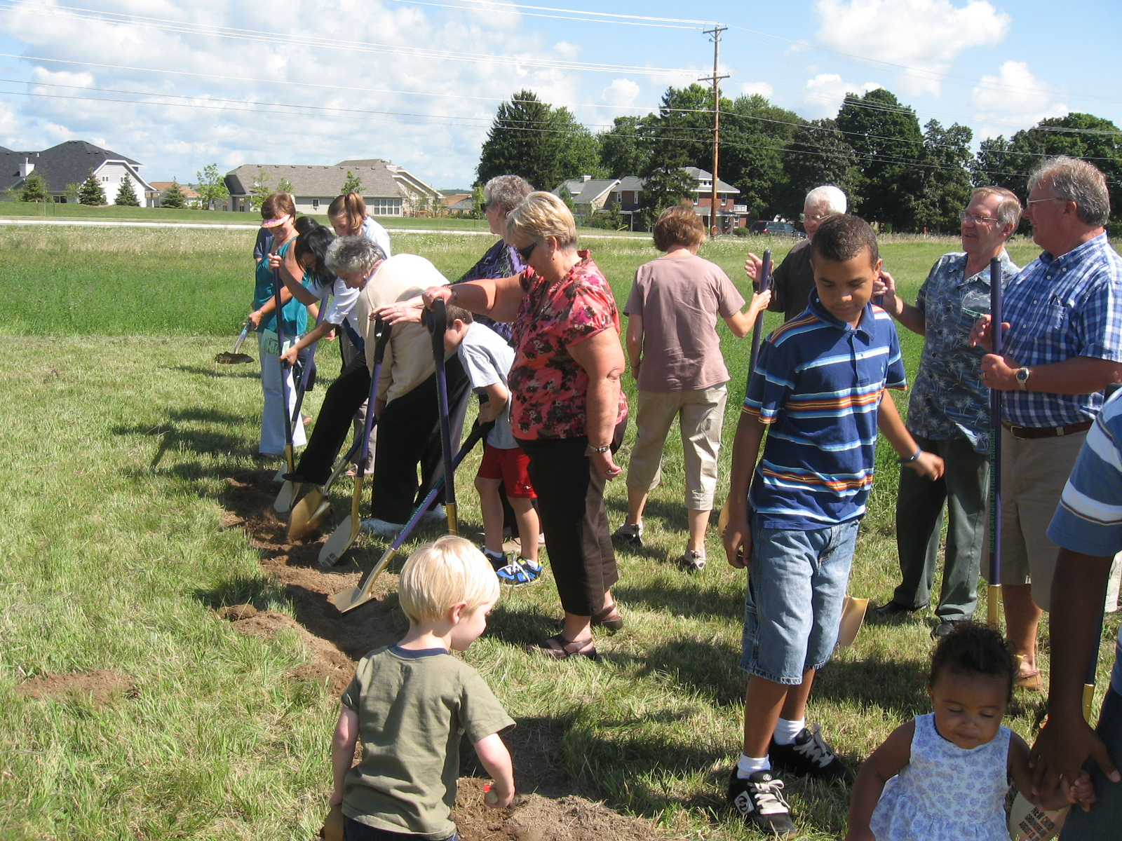 The groundbreaking in 2009