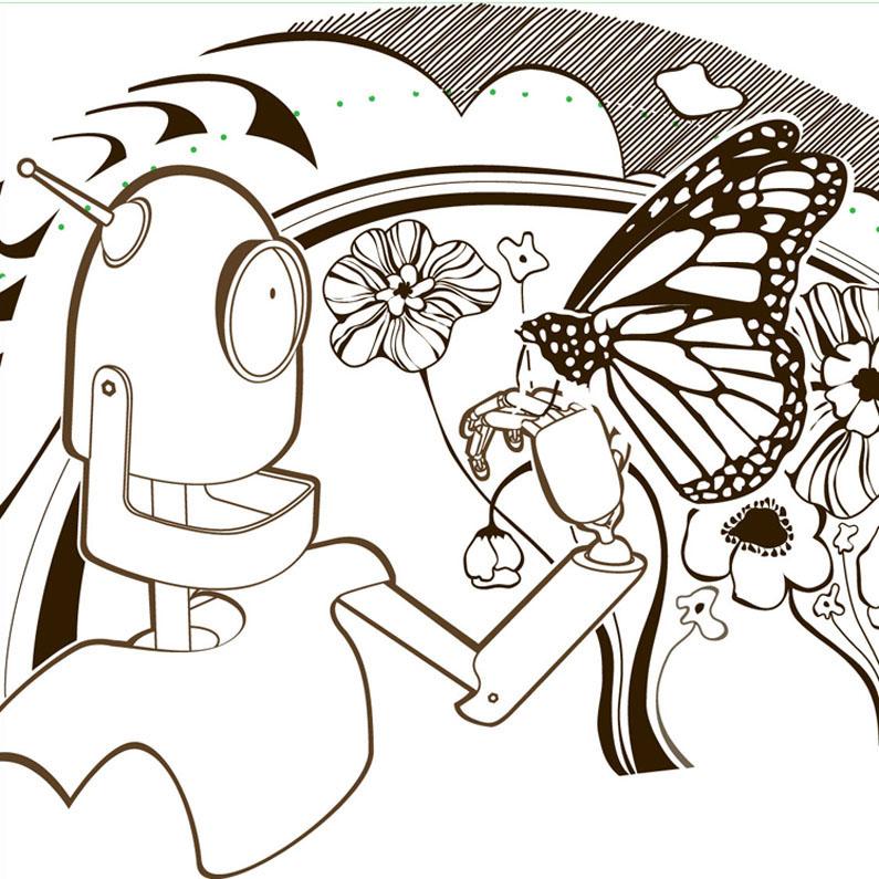 Foulard  Ariedo  Atelier Doodle