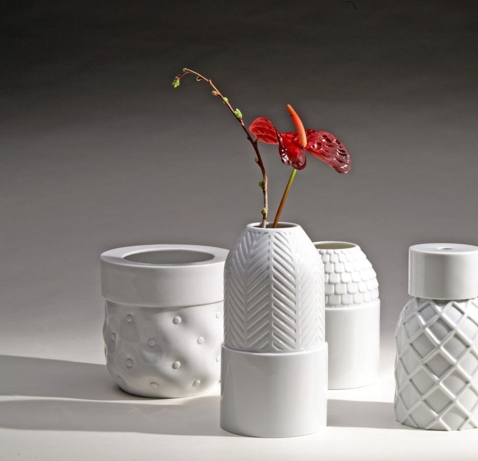 Vases Texturés Vautrin, Delvigne Vases Texturés Collection