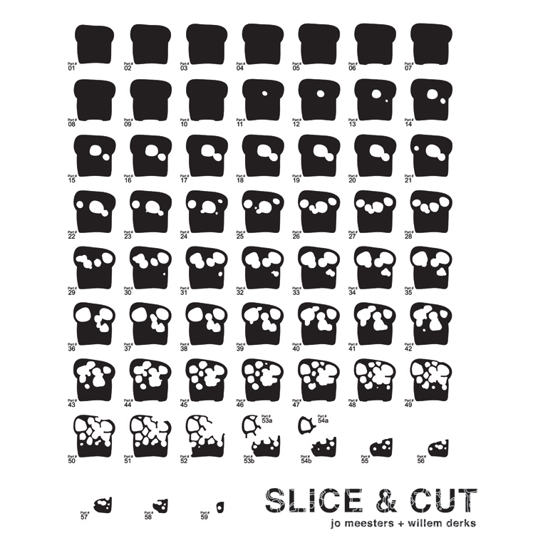 Foulard SliceAndCut   Meesters, Derks   Collezione First Cut