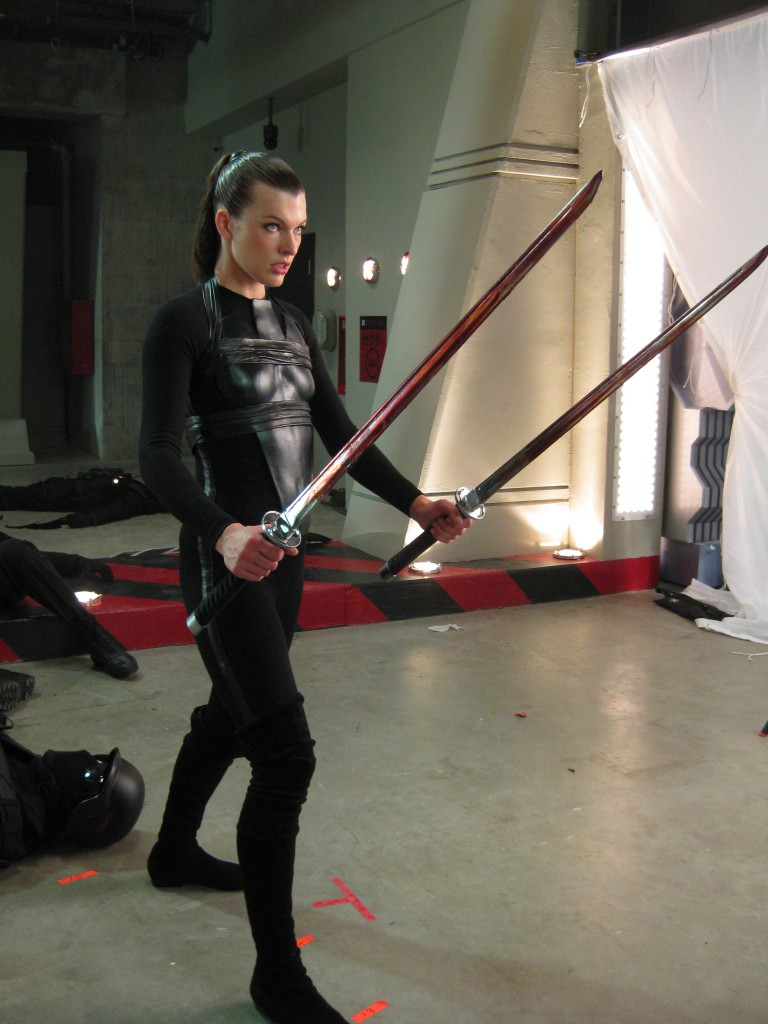 Resident Evil: Afterlife (2010) - swords
