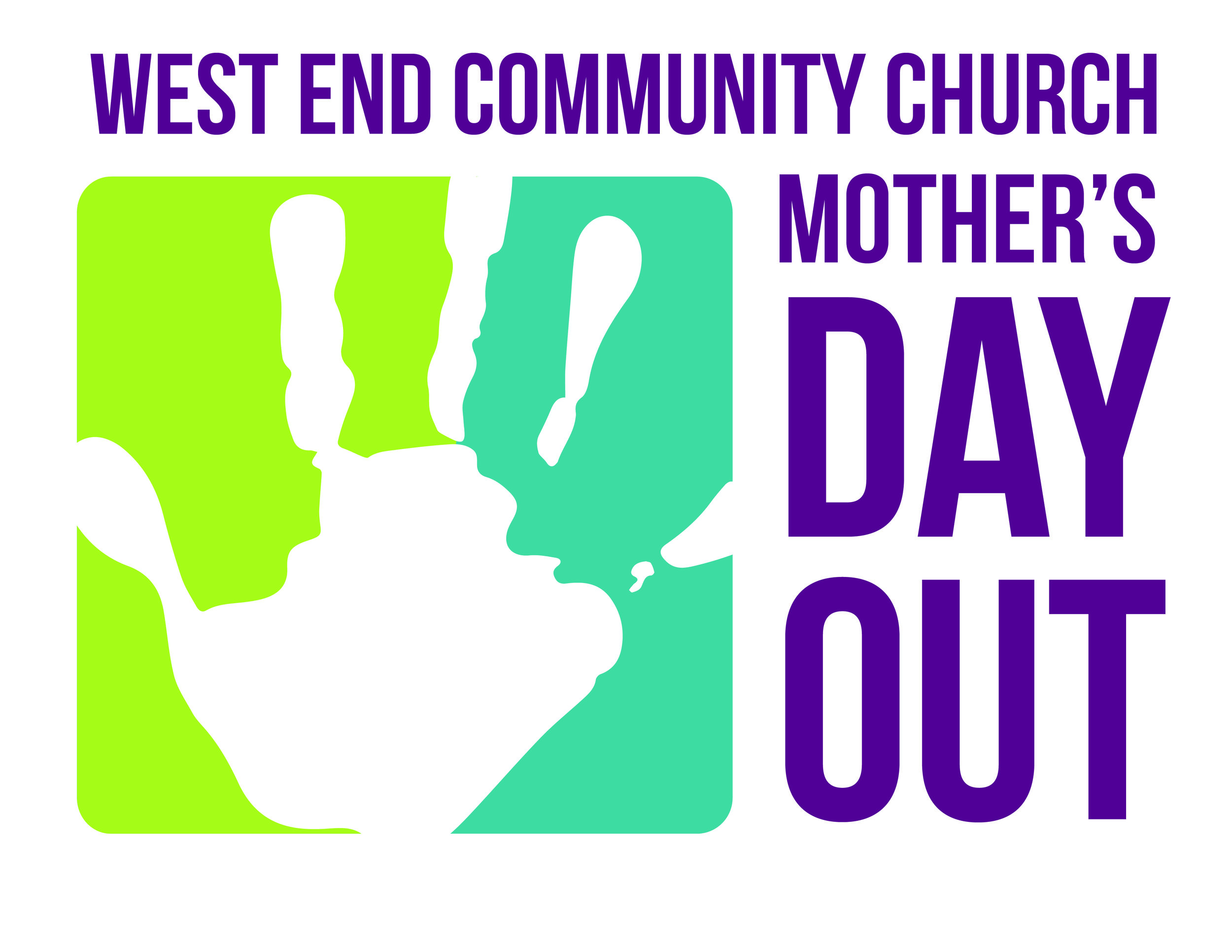 - The Mother's Day Out ministry of West End Community Church aims to provide a secure, loving and Christ-centered environment for children to grow and develop as Jesus did, in wisdom and stature, and in favor with God and men. Luke 2:52
