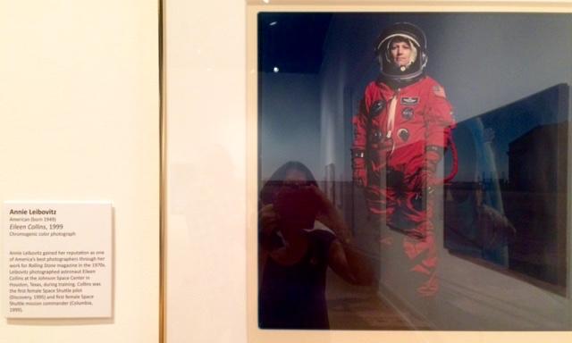 Scene from Vero Beach Museum of Art, Annie Leibovitz photograph